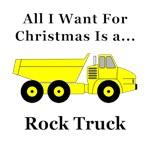 Chirstmas Rock Truck