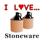 I Love Stoneware