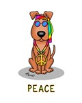 Hippie Dog Peace