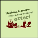 Sun Bathing Otter
