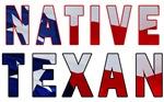 Native Texan Flag