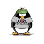 Love Poker Penguin