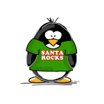 Santa Rocks Penguin