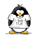Love Tux Penguin