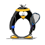 racquetball Penguin