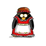 Mrs. Claus Penguin