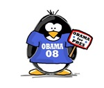 Obama 08 Penguin