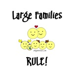Large families rule