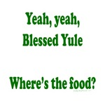 Where's the food, pregnant yule