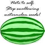No watermelon seeds