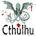 Cthulhu head vector
