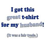 Shirt for husband