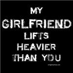 Girlfriend lifts heavier
