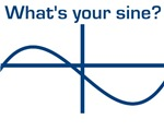 FUNNY MATH T-SHIRT SHIRT WHAT'S YOUR SINE TEE