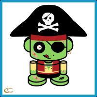 Pirate Zombie O'bot 2.0