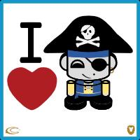 I Heart Happy Pirates 1.0