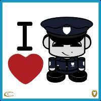 I Heart the Police