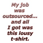 All I got was this lousy t-shirt.