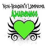 Non-Hodgkin's Lymphoma Awareness Tattoo Shirts