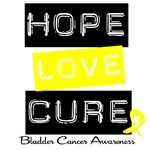 Hope Love Cure Bladder Cancer Shirts &amp; Gifts