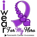 Pancreatic Cancer Hero Shirts & Gifts