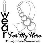 Lung Cancer Hero Ribbon Shirts & Gifts