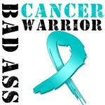 Bad Ass Ovarian Cancer Warrior T-Shirts & Gifts
