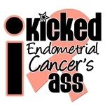 I Kicked Endometrial Cancer's Ass Shirts