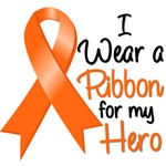 I Wear a Ribbon Leukemia Hero