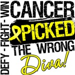 Sarcoma Cancer Picked The Wrong Diva Shirts