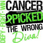 Lymphoma Cancer Picked The Wrong Diva Shirts