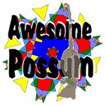 Awesome Possum Kaleidoscope