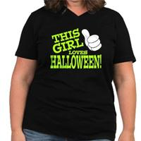 This Girl Loves Halloween (green)