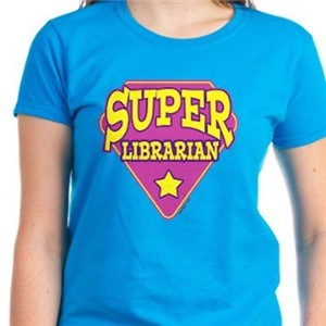 Pink Super Librarian