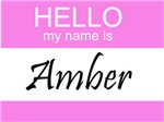 Hello My Name Is Amber