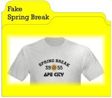 Fake Spring Break