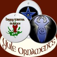 Pagan/Wiccan Yule Ornaments