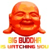 Big Buddha is Watching You | Weird Totalitarian Spirituality T-shirts & Gifts