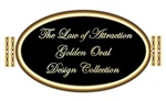 LAW OF ATTRACTION GOLDEN OVAL DESIGN COLLECTION