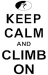 Keep Calm and Climb On - Female