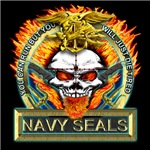 US Navy Seal Flames Die Tired