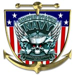US Navy 1775 Skull Shield