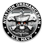 USN Aviation Ordnanceman Skull