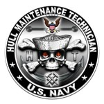 USN Hull Maintenance Technician Skull HT