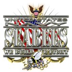 USN Navy Seabees Flag We Fight