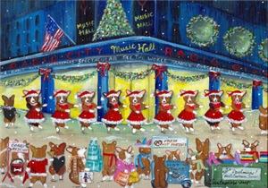 A Christmas Corgi Spectacular!