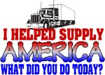 Helped Supply America Trucker