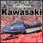 Kawasaki Snowmobile T-shirts & Gifts