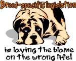 Breed-specific legislation blame