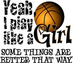 Play Like a Girl - Basketball